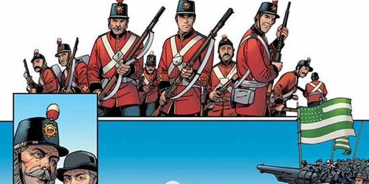 Wayne's Comics, Wayne Hall, Renegade Arts Entertainment, The Loxleys and the War of 1812, The Loxleys and Confederation, Canada, Mark Zuehlke,