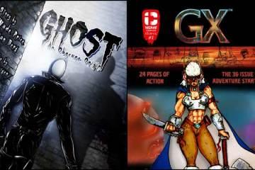 Wayne Hall, Wayne's Comics, Ghost, Brian Berg, Wade Price, GX, Guardians, Michael McNaughton, Insane Comics,