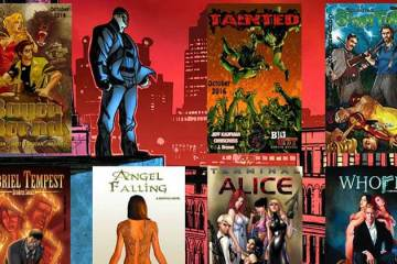 Wayne Hall, Wayne's Comics, Jeff Kaufman, Big City Comics, Bayou Bound, Gabriel Tempest, Angel Falling, Whore, Scary Fails, Tainted, vampires, Terminal Alice, Chip & Gorro,