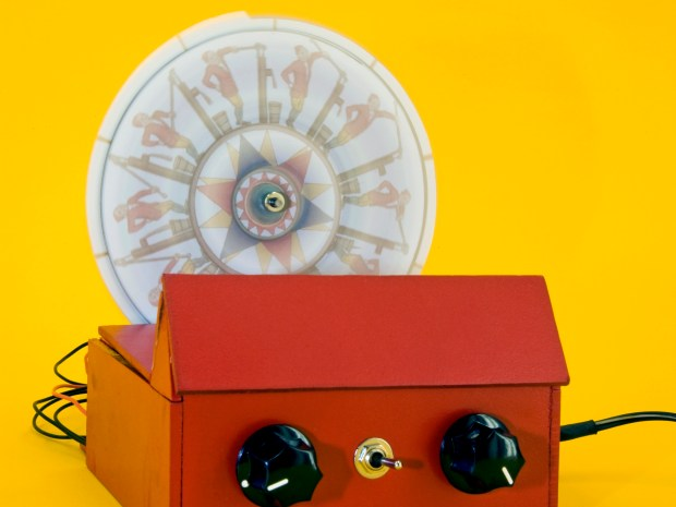 The Autophenakistoscope