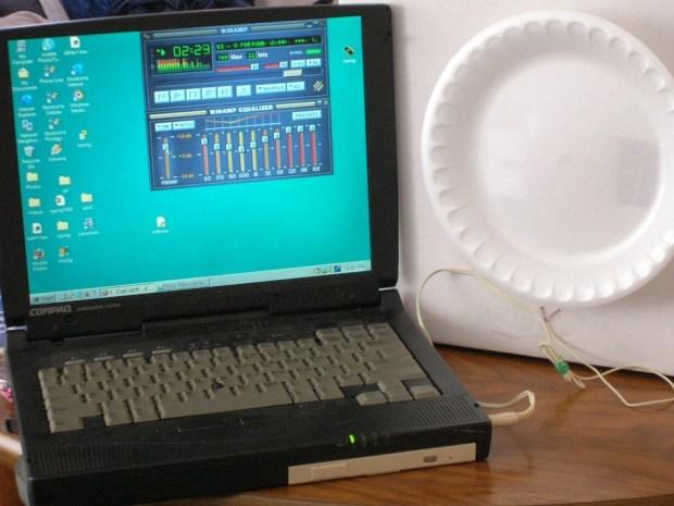 Styrofoam Plate Speaker