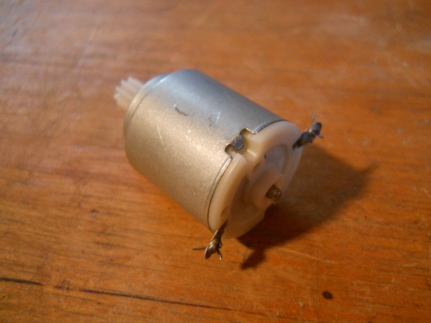 Electric Motor Spinning Top