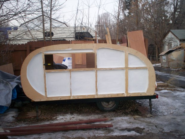 Teardrop Camper Trailer