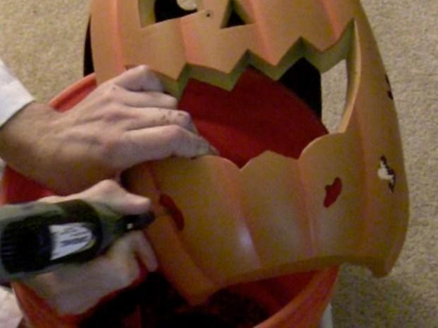 Mutant Cyborg Pumpkin HalloweenCostume