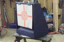 Airsoft Gun Target Holder & BB Catch