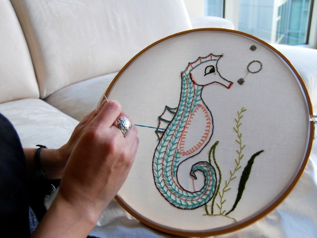 Embroidery 101