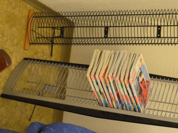 Display/Shelf for Make Magazines