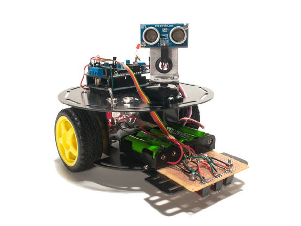 Build the Rovera 2WD Robot