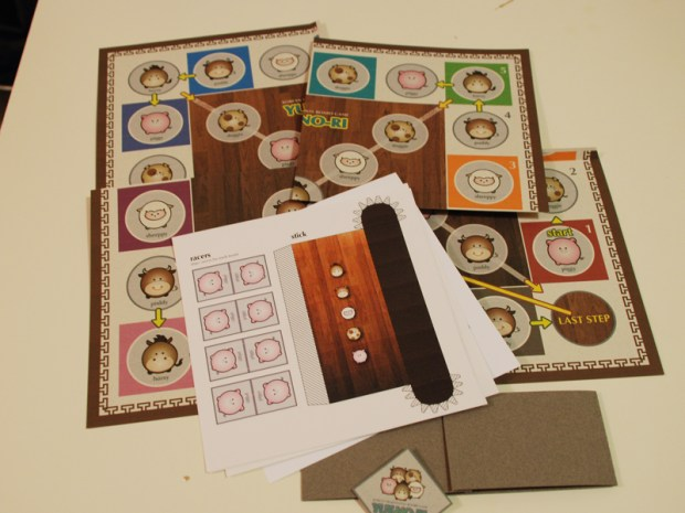Korean Board Game, 'Yut-no-ri'