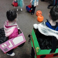 Thomas the Train Costumes (Percy and&nbsp;Rosie)