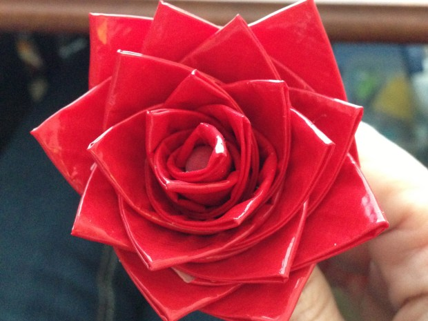 Duck Tape Rose