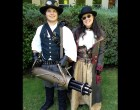 Steampunk CO2 Gatling Gun & Costume