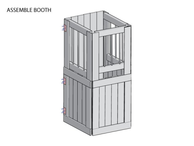 Scary Ticket Booth Build