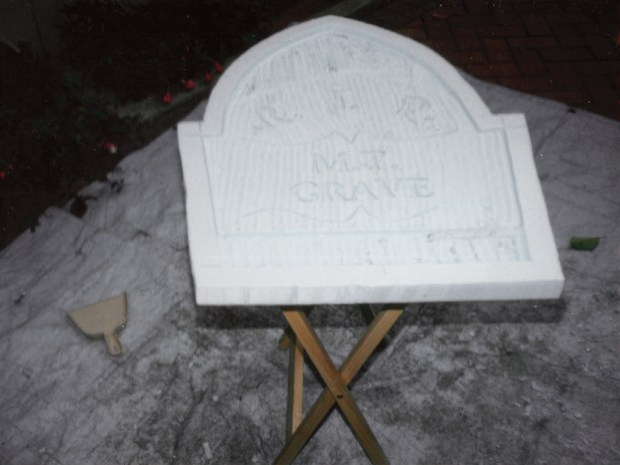 Grave Situation — Make StyrofoamTombstones
