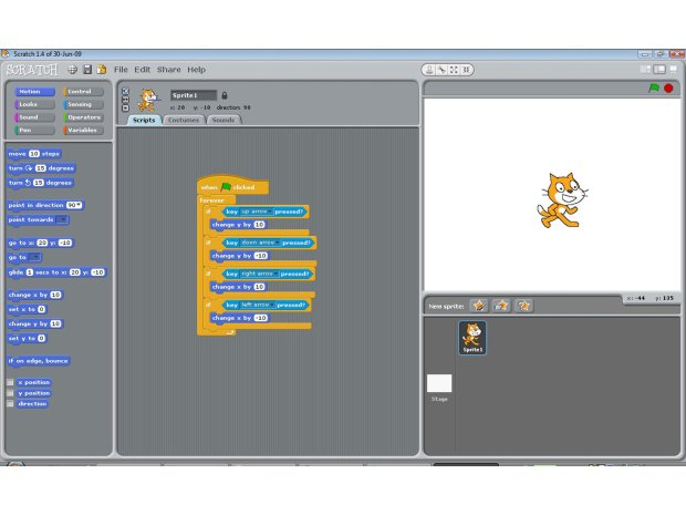 Intro to Scratch