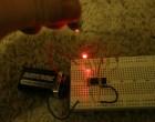 Laser-Triggered Fire-Breathing PumpkinPrank
