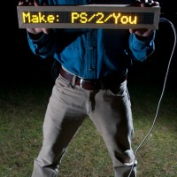 PS/2/You LED&nbsp;Sign