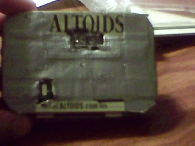 Wireless Altoids Tin Mouse (aka Minty Mouse)