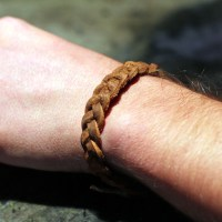 Braided Leather&nbsp;Bracelet