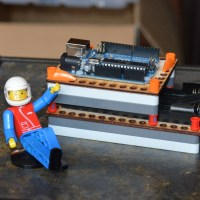 LEGO Technic Mounting for Arduino &amp; Battery Pack&nbsp;Boards