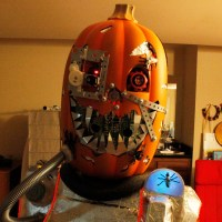 Mutant Cyborg Pumpkin Halloween&nbsp;Costume