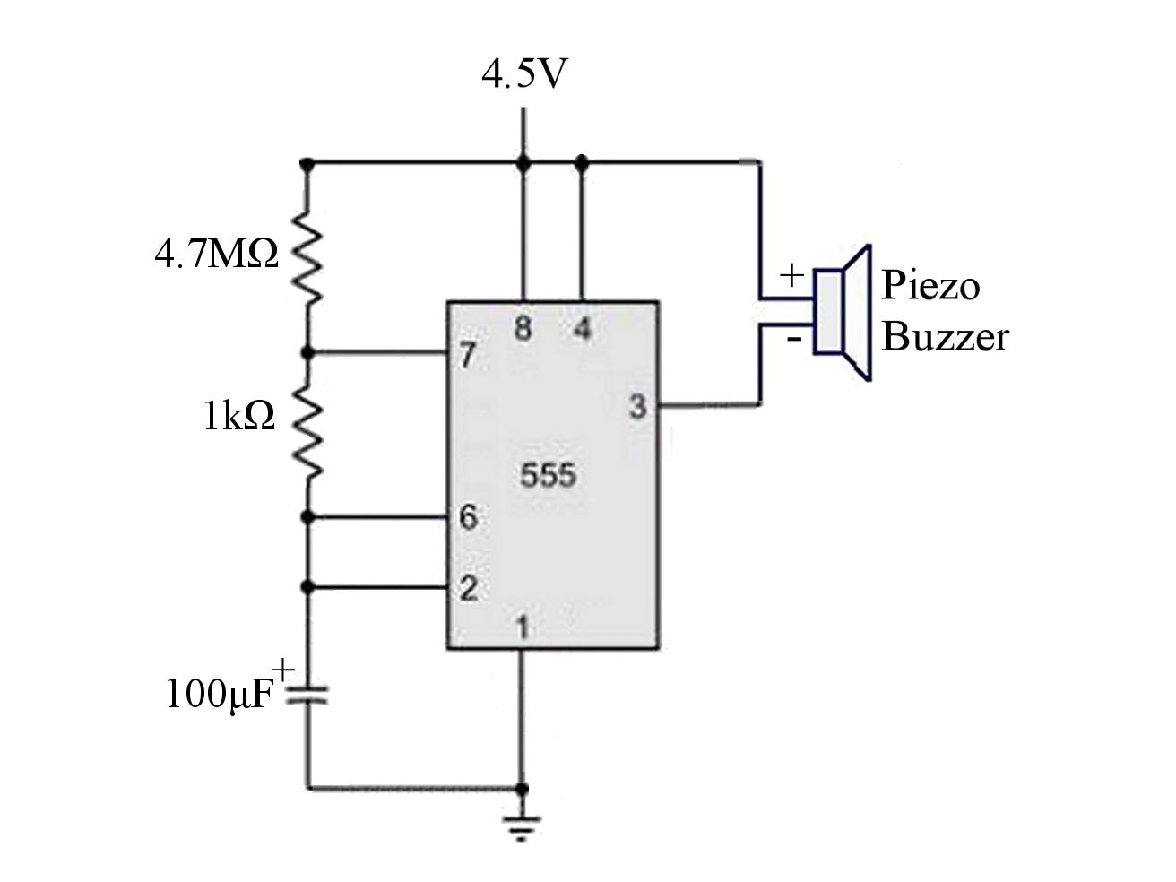 Piezo Buzzer Circuit Diagram Expert Schematics Wiring 1 99 5vac Breadboard Compatible Tinkersphere Otherwise