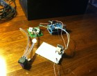 Making a CO2/GPS logger powered by a bike dynamo