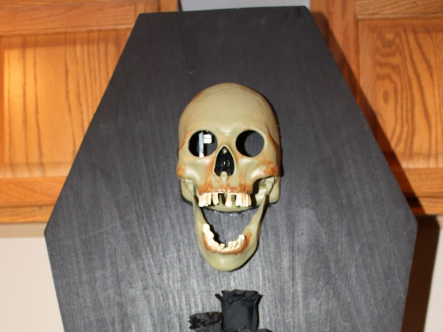 Haunted Coffin Card Holder