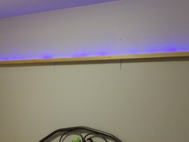 Lighted Shelf