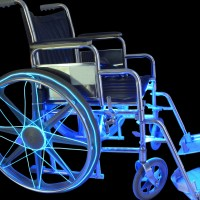 EZ-EL Wire/LED Light&nbsp;Wheelchair