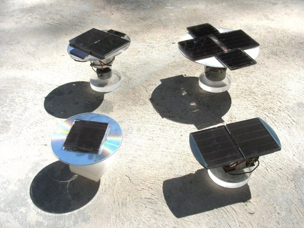 Solar Spinners for Your&nbsp;Windowsill!
