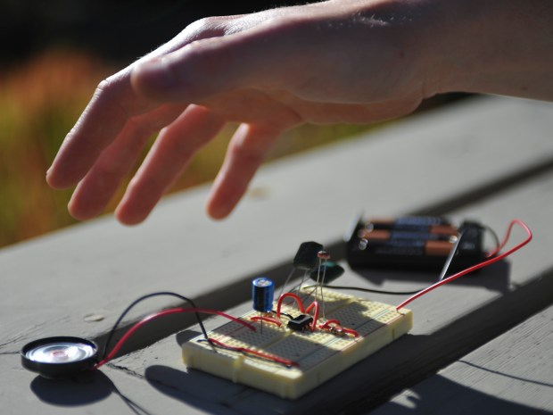 Light Theremin