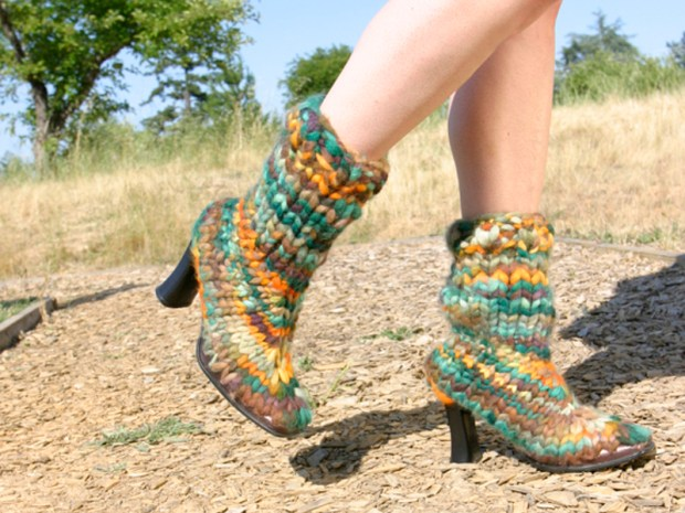 Knitted&nbsp;Boots