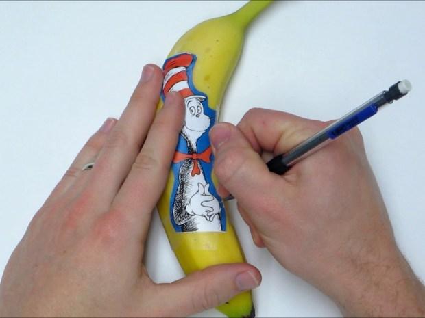 Banana Oxidation Art