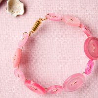 Cute as a Button Bracelet