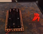 LEGO Technic Mounting for Arduino & Battery Pack Boards