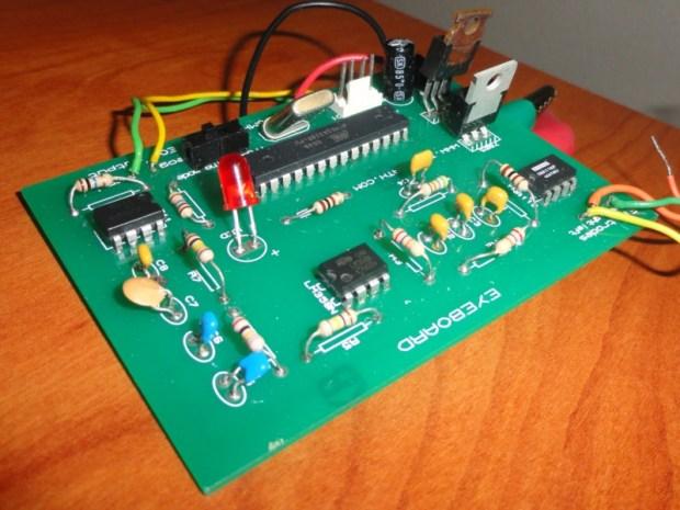 Eyeboard Electrooculography (EOG)System