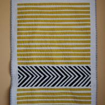 """Inspired"" quilt from Sarah of Bluprint Textiles"