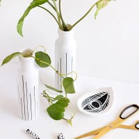Make it | Upcycled bottle vase