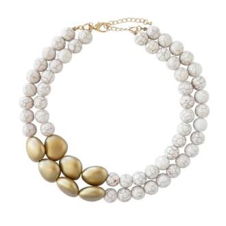 collar estilo mármol