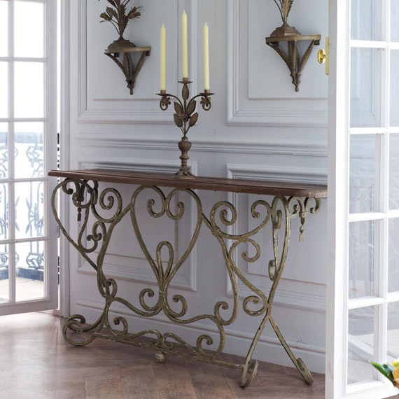 Bastille French-Style Console Table - OKA Direct