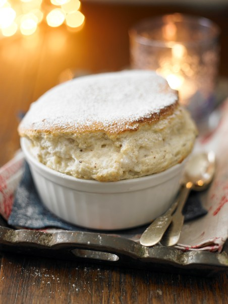 Christmas Cherry Souffle