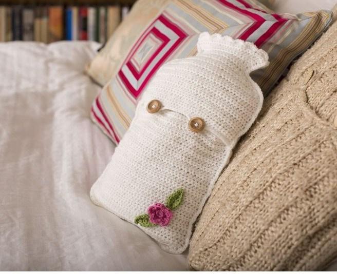 Get Crafty Crochet Hot Water Bottle Kit - Hobbycraft