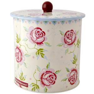 Rose and Bee Biscuit Barrel - Emma Bridgewater