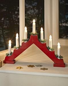 Wooden 7 Light Candle Bridge - The Brilliant Gift Shop