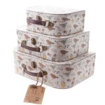 We Love… Sass & Belle's Vintage-Style Bird Print Suitcases