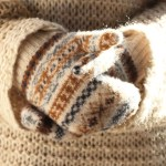 How to Make No-Knit Knitted Mitts