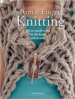 arm and finger knitting
