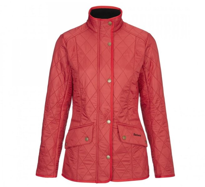 ladies barbour cavalry polarquilt jacket - country house outdoor
