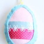 Make It: Felt Easter Egg Decorations